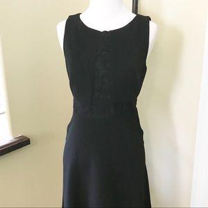 BCBGeneration Black Sleeveless Cocktail Dress Sz 6